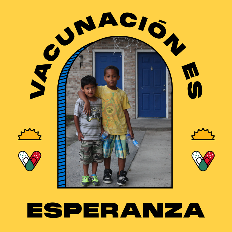 vaccine promotion flier thumbnails